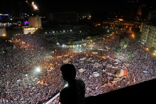 The opserver, Tahrir square.