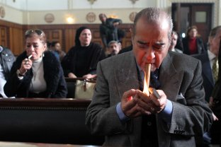 Farid El-Deeb, Mubarak's lawyer.