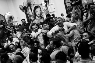 Funeral in Warraq's Virgin Mary church